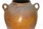 корчага, керамика, глазурь, конец XIX - начало ХХв.