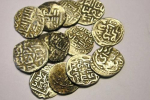 Монеты, белый металл, XIII-XIVвв