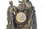 каминные часы. бронза. начало ХХв.