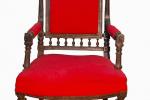 кресло, дерево, ткань, конец XIX в.