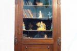 шкаф книжный, дерево, стекло. ХХв.