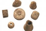 Шахматные фигурки,шашки, игральные кости XIII XIVв