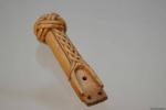 Рукоять плети, кость XIII-XIVвв
